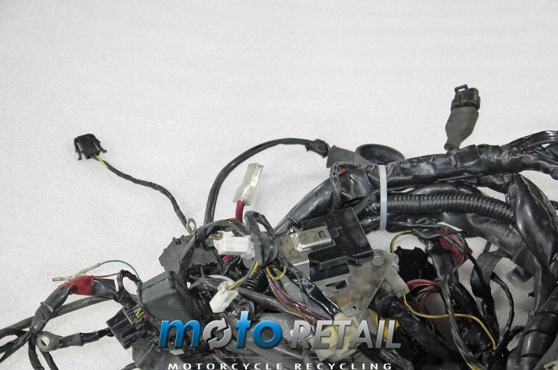 05 Piaggio Vespa GTS 250 ie Wiring harness cables loom on