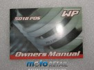 WP Suspension shock absorber owner's manual 5018 PDS 53000055