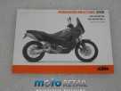 06 KTM 990 Adventure Owner's manual german 321181de